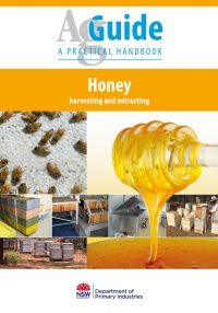 AG Guide Honey Harvesting & Extracting Book